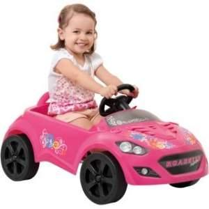 [Bebê Store] Mini Veículo Infantil Roadster Pink - Brinquedos Bandeirante - R$95