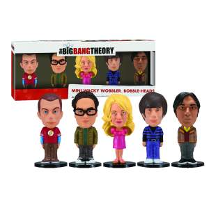 [MUNDO GEEK] - Mini Figura Big Bang Theory Wacky Wobbler - R$ 39,90