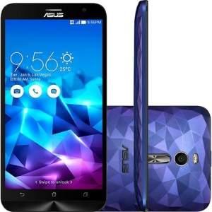 [Saraiva] Asus Zenfone 2 Deluxe Roxo Dual Chip 128GB - R$1.495