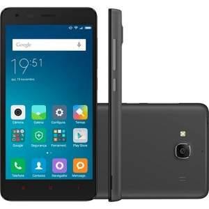 """[Shoptime] Smartphone Xiaomi Redmi 2 Dual Chip Desbloqueado Android 4.4 Tela 4.7"""" 8GB 4G Câmera de 8MP - por R$494"""