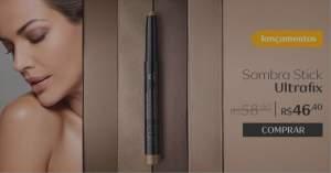 [Natura] Sombra Stick Ultrafix Una - 1,4g R$46