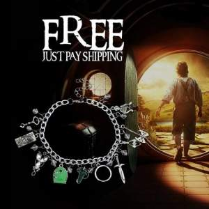 [Aimed Stuff] Bracelete O Hobbit DE GRACA!!! Só paga o frete..