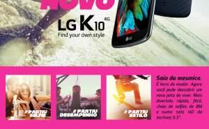 [Fastshop] Smartphone LG K10 Por R$649