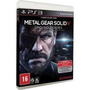 [Walmart] Metal Gear Solid V: Ground Zeroes para PS3 - R$22