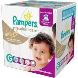 [Walmart] - Pacote de Fraldas Pampers Premium Care Jumbo G - 68 unidades