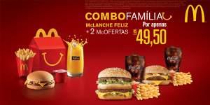 [Mc Donalds] Combo Família  Agosto 2016 por R$ 50