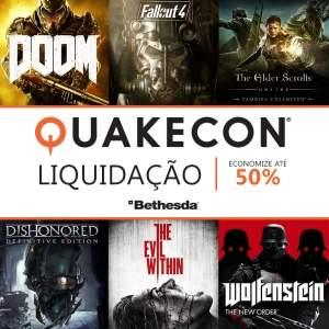 [Xbox Live] Títulos da Bethesda em promoção