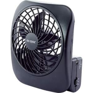 [Sou Barato] Ventilador de Mesa DTC Desk Cool Cinza e Preto 2 Velocidades - R$14,99