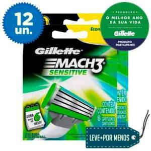 [Clube do ricardo] 12 cargas Mach3 Sensitive por R$ 50
