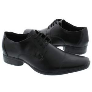 [Clube do Ricardo] Sapato Social  Faraton Preto - 44,90