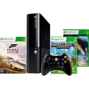 [Americanas] Console Xbox 360 500GB + 3 Jogos + Controle Sem Fio por R$ 855