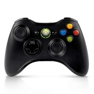 [Submarino] Controle Xbox 360 sem fio Preto Microsoft - R$150