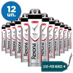 [Clube do Ricardo] - 12 desodorantes Rexona - R$ 99,96