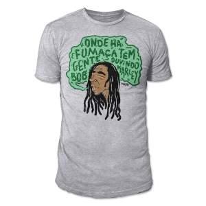 [Loja Mução] Camiseta Bob Marley R$39,90