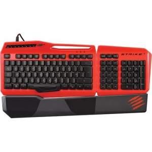 [AMERICANAS] Teclado Gamer Mad Catz Strike 3 Vermelho PC - R$270