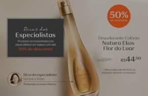 [Natura] Desodorante Colônia Feminino Natura Ekos Flor do Luar - 100ml R$ 44,90