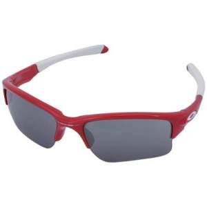 [Centauro] Oculos Oakley quarter jacket iridium vermelho e branco por R$ 220
