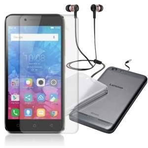 [Saraiva] Smartphone Lenovo K5 Edição Especial (Capa + Película + fone JBL) - 720,72