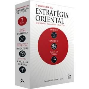 [Submarino] Box de Livros - O Essencial da Estratégia Oriental (3 Volumes) - R$ 16,92