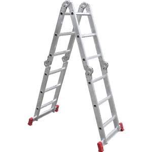 [Submarino] Escada Multifuncional Alumínio Articulada 3x4 12 Degraus 13 Posições - R$179,99