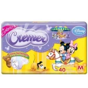 [Ricardo Eletro] Fralda Cremer Disney Baby M 40 unidades - por R$21