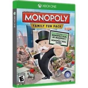 [Walmart] Jogo Xbox One Monopoly Family Fun Pack Ubisof - por R$30