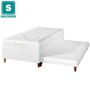 [Ecolchão] Box Conjugado c/ Cama Auxiliar Solteiro - por R$475 + frete grátis (sudeste)