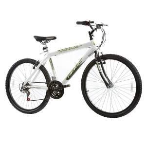 [Carrefour] Bicicleta Track Bikes Aro 26 - 18 Marchas Mountainer Lazer Branca por R$ 400
