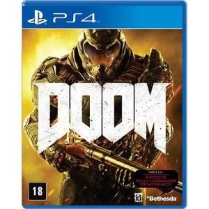 [Submarino] Game Doom - PS4 por R$ 115