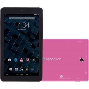 "[Shoptime] Tablet Bravva BV 8GB Wi-Fi Tela 7"" Android 5.0 Processador Quad Core 1.3GHz - Rosa  Por: R$ 227"