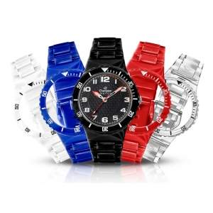 [Extra] Relógio Unissex Troca Pulseiras Analógico Champion CP30182X - 5 Pulseiras Sortidas R$73