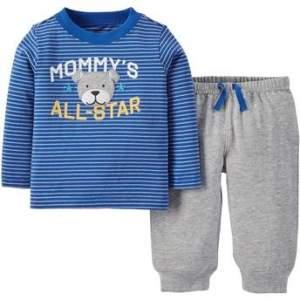 [Walmart]  Conjunto Camiseta Manga Longa e Calça All Star Bebê Child of Mine Made by Carter's R$90