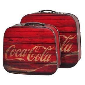 [Ponto Frio] - Conjunto de Maletas Urban Coca – Cola – Vermelho - R$278,00
