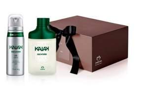 [Natura] Presente Natura Kaiak Aventura - Colônia + Desodorante Aerosol+ Embalagem - R$ 90