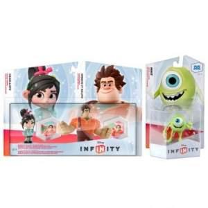 [Ricardo Eletro] Kit com 03 Personagens Disney Infinity (Detona Ralph + Mike Wazowski) - por R$31
