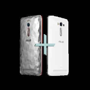 [Asus] Zenfone 2 Deluxe Special Edition + Zenfone 2 Laser 5.5 Branco - R$2205,00