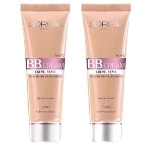 [Extra] Pague 1 leve 2 -  BB Cream L'Oréal Paris FPS20 - 2 unidades - por R$28