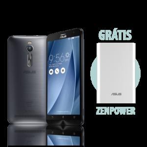 [ASUS] Zenfone 2 4GB/32GB Prata + ZenPower Prata por R$ 1399