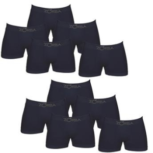[Walmart] - Kit com 10 Cuecas Boxer Zorba - R$99,90