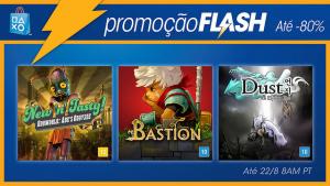 [PSN] Flash Sale na Playstation Store até 22/08!!