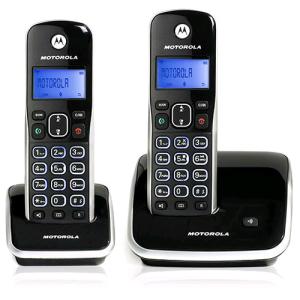 [Submarino] Telefone s/Fio DECT 6.0 c/ Identificador de Chamadas e Viva Voz + 1 Ramal AURI3500 MRD2 - Motorola