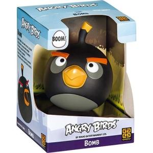 [SUBMARINO] Boneco Angry Birds Bomb Preto - Grow