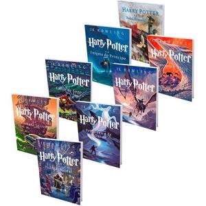 [Submarino] - Kit livros Coleção Harry Potter - Saga completa + Edição Especial Ilustrada  - 110
