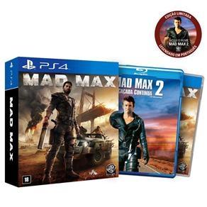 [Ponto Frio] Mad Max + Blue ray PS4