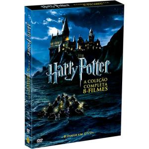[Americanas] - Coleção de DVD Harry Potter 8 filmes R$7,50 cada disco