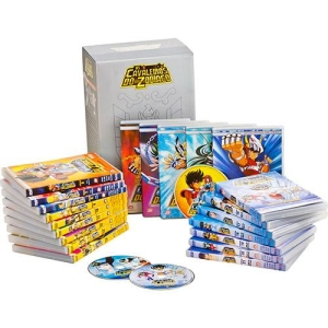 [Americanas] Box Exclusivo Cavaleiros do Zodíaco: Saga Clássica Completa - Santuário, Asgard e Poseidon (21 DVDs) R$ 204,09 1X Cartão americanas