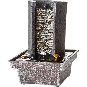 [Sou Barato] Fonte de Água Relaxmedic Wall Marrom - R$40