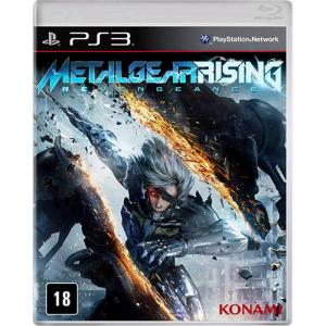 [Americanas]  Metal Gear Rising PS3 - R$: 9