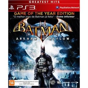 [Americanas] Batman - Arkham Asylum - PS3 R$17,59 boleto // R$19,99 1x cartão