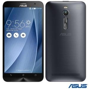 """[Fast Shop]Zenfone 2 Dual Prata Asus, com Tela de 5,5"""", 4G, 32 GB e Câmera de 13 MP – ZE551 por R$ 1066"""